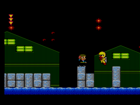 Alex Kidd in Shinobi World - Stage 2